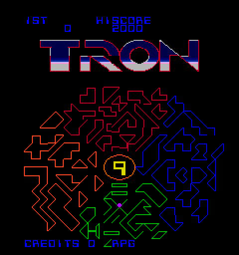 Tron Video Arcade Machine