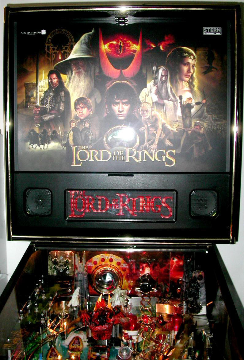 Lord of the Rings Pinball LOTR 2nd Photo