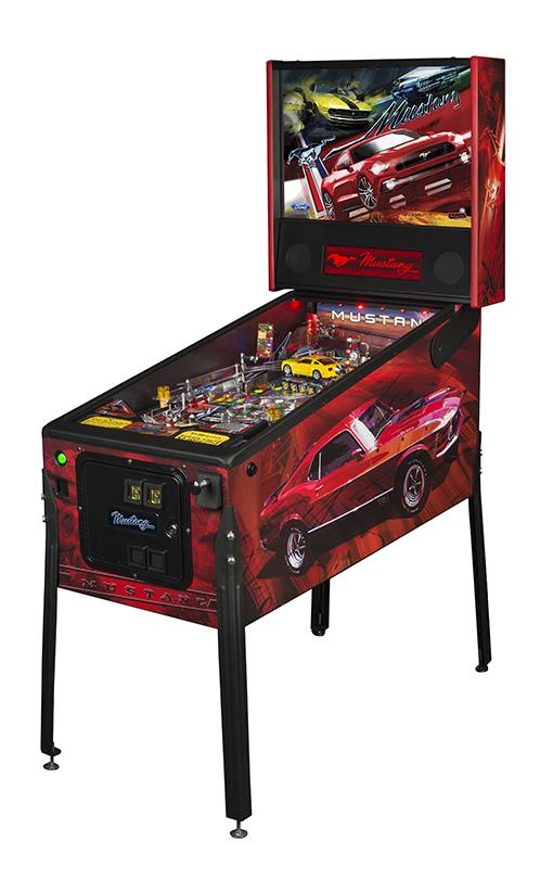 Mustang Pinball Machine Main