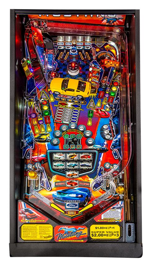 Mustang Pinball Machine Playfield