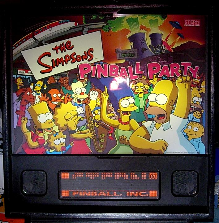 Simpsons Pinball Party Main Photo